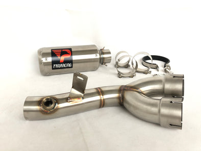 Yamaha YZF R6 13 14 15 16 10 ProRacing®Exhaust Decat Silencer Stainless