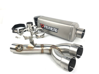 Yamaha YZF R6 (06-16) ProRacing®Exhaust Decat and Silencer Stainless
