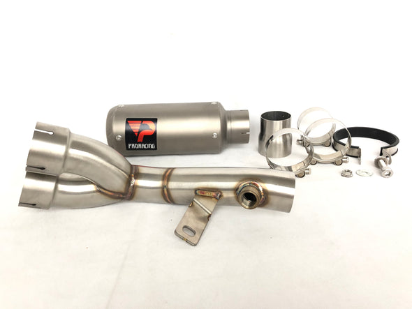 Yamaha YZF R6 06 16 15 09 ProRacing®Exhaust Decat Silencer Titanium