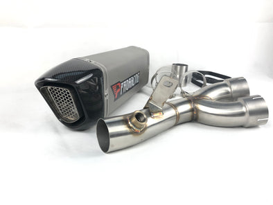 Yamaha YZF R6 06 07 08 09 ProRacing®Exhaust Decat Silencer Titanium