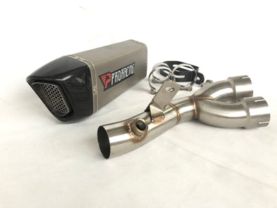 Yamaha YZF R6 14 15 16 09 ProRacing®Exhaust Decat Silencer Titanium