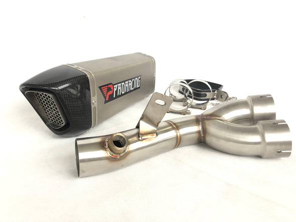Yamaha YZF R6 10 11 12 13 ProRacing®Exhaust Decat Silencer Stainless