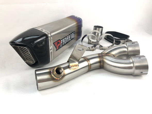 Yamaha YZF R6 06 16 15 14 ProRacing®Exhaust Decat Silencer Stainless