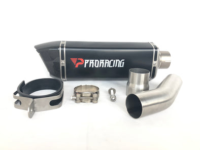 Kawasaki Ninja ZX-10R 08 09 11 ProRacing®Exhaust Link Pipe Silencer Stainless