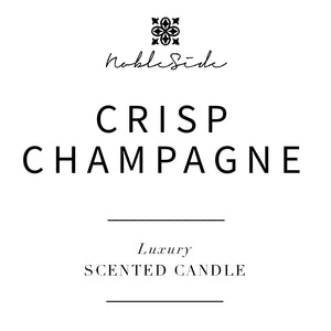 CRISP CHAMPAGNE - LUXURY SCENTED CANDLE