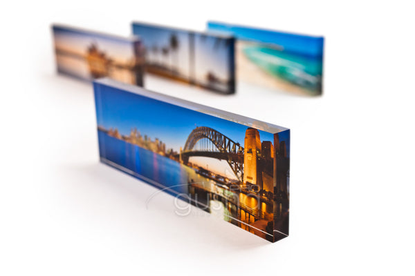 Acrylic Photo Block 21x7x1.5cm
