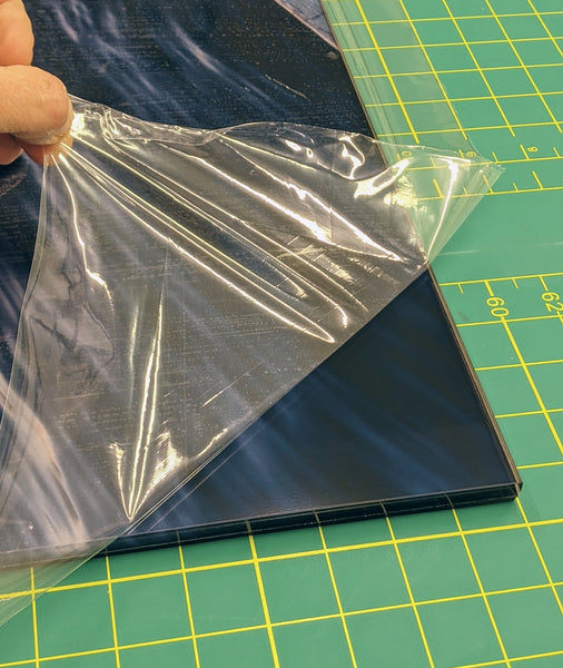 Adhesive protection film