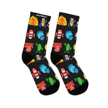 Picmonic Character Socks in Black