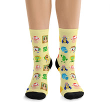 Picmonic Character Socks in Lemon