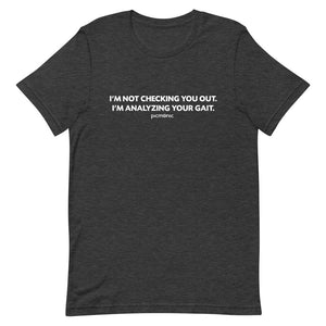 Gait Analysis Short-Sleeve Unisex T-Shirt