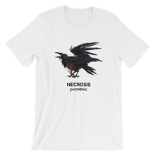 """Necrosis Crow"" Unisex Short Sleeve Jersey T-Shirt"