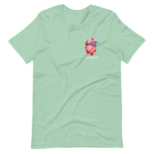 Picmonic Heart Short-Sleeve Unisex T-Shirt