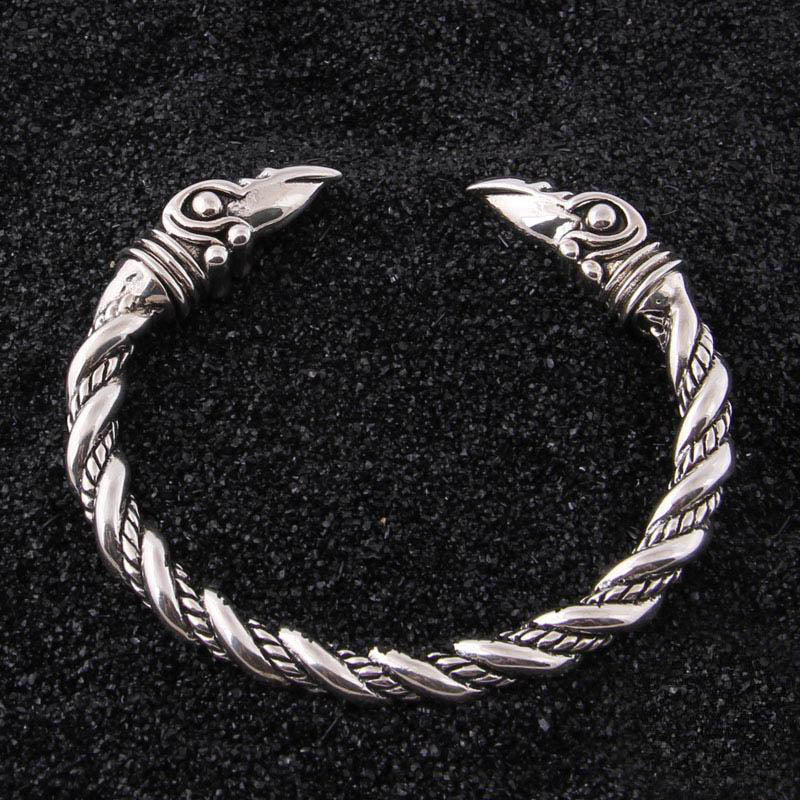 Viking Raven Bangle