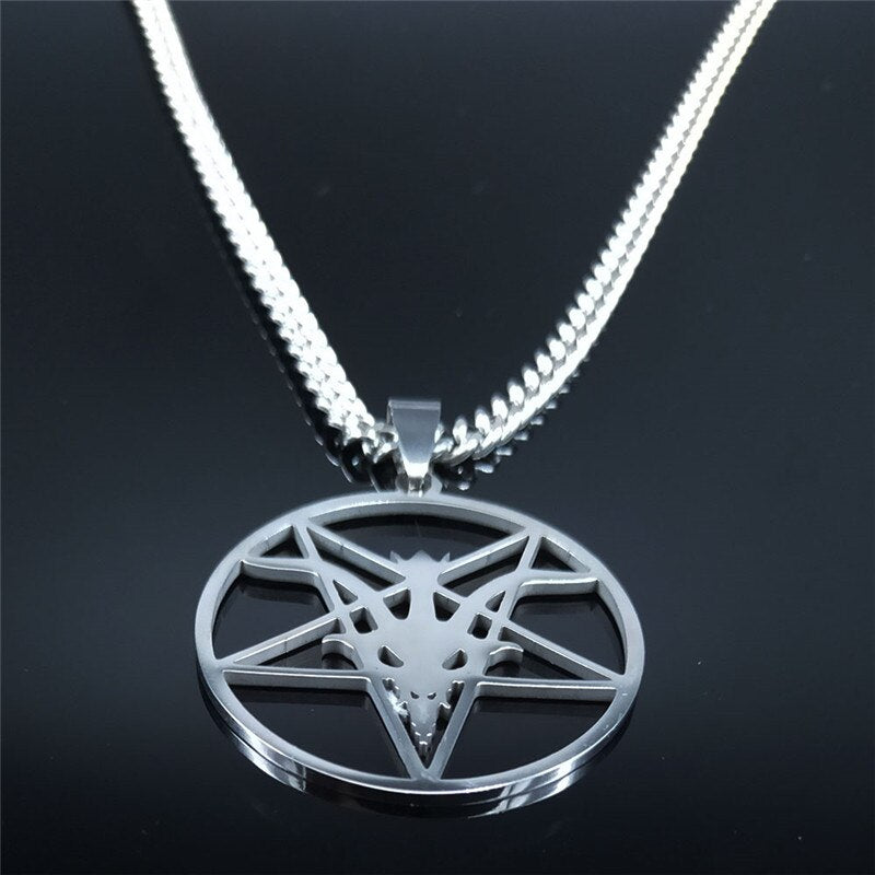 The Satanic Temple Pendant