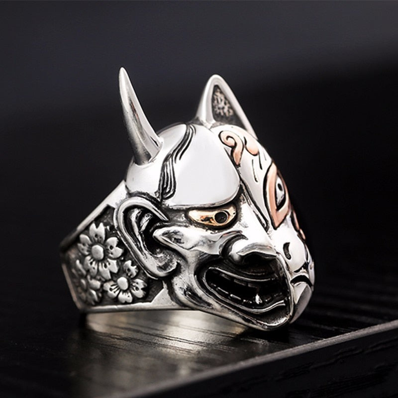 Devil Skull Face Ring
