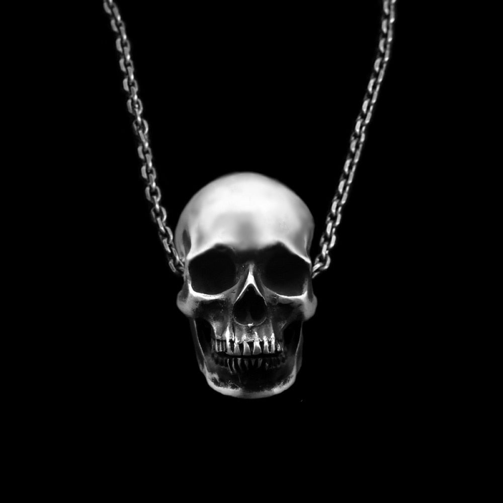 Humans Skull Pendant Necklace
