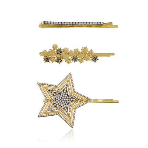 CELESTIAL HAIR PINS Set of 3