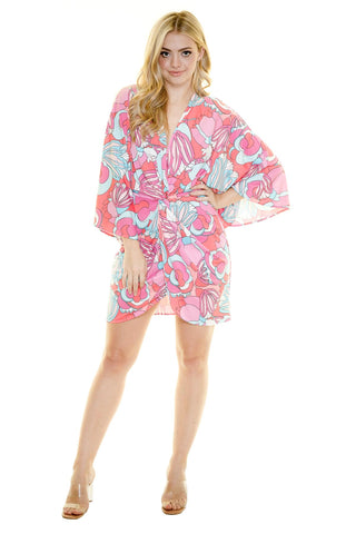 MIAMI MINI KIMONO DRESS