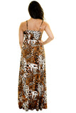 SAFARI MAXI DRESS