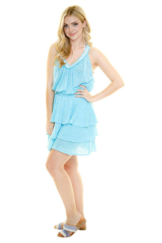 IBIZA SLUB MINI DRESS