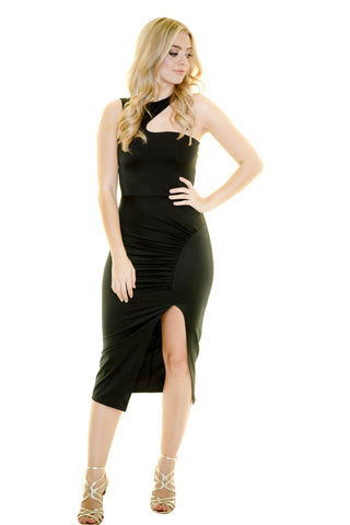 SLENDERELLA CURVES MIDI DRESS