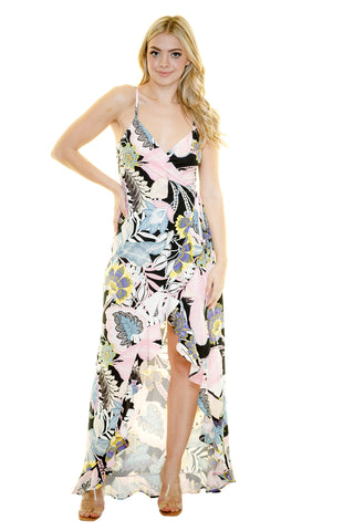SHANGHAI HI-LO MAXI DRESS