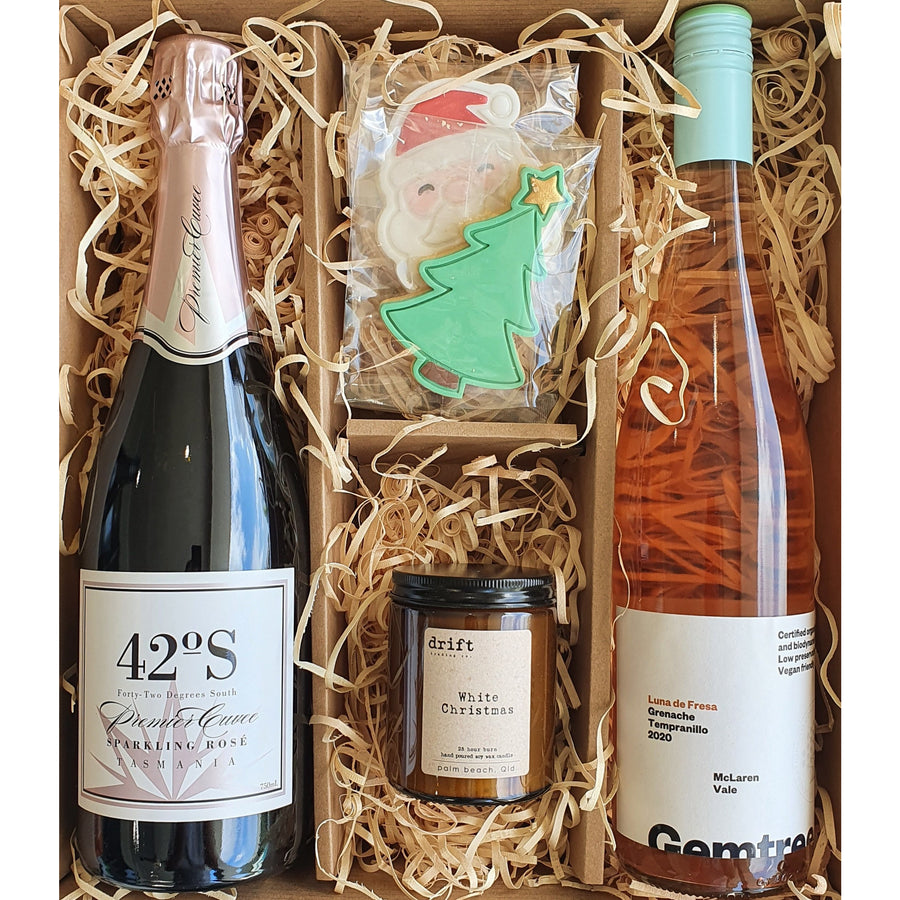 Christmas Hamper (Bubbles & Rosé)