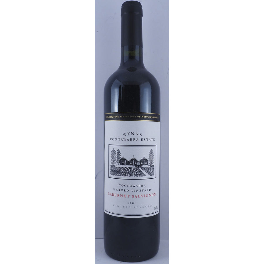 Wynns Coonawarra Estate Harold Single Vineyard Cabernet Sauvignon 2001 (Single Bottle)