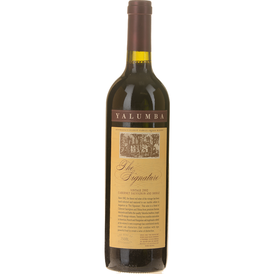 Yalumba The Signature Barossa Valley Cabernet Shiraz 2002 (Single bottle)
