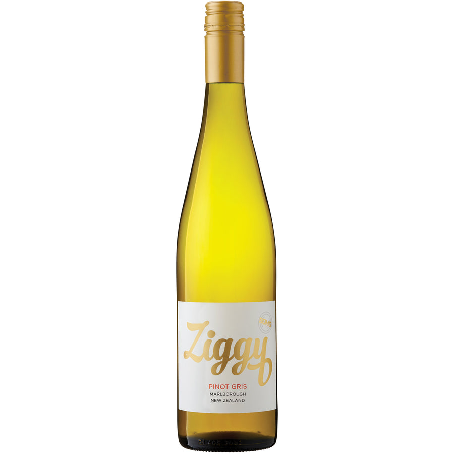 SOHO Ziggy Marlborough Pinot Gris 2018