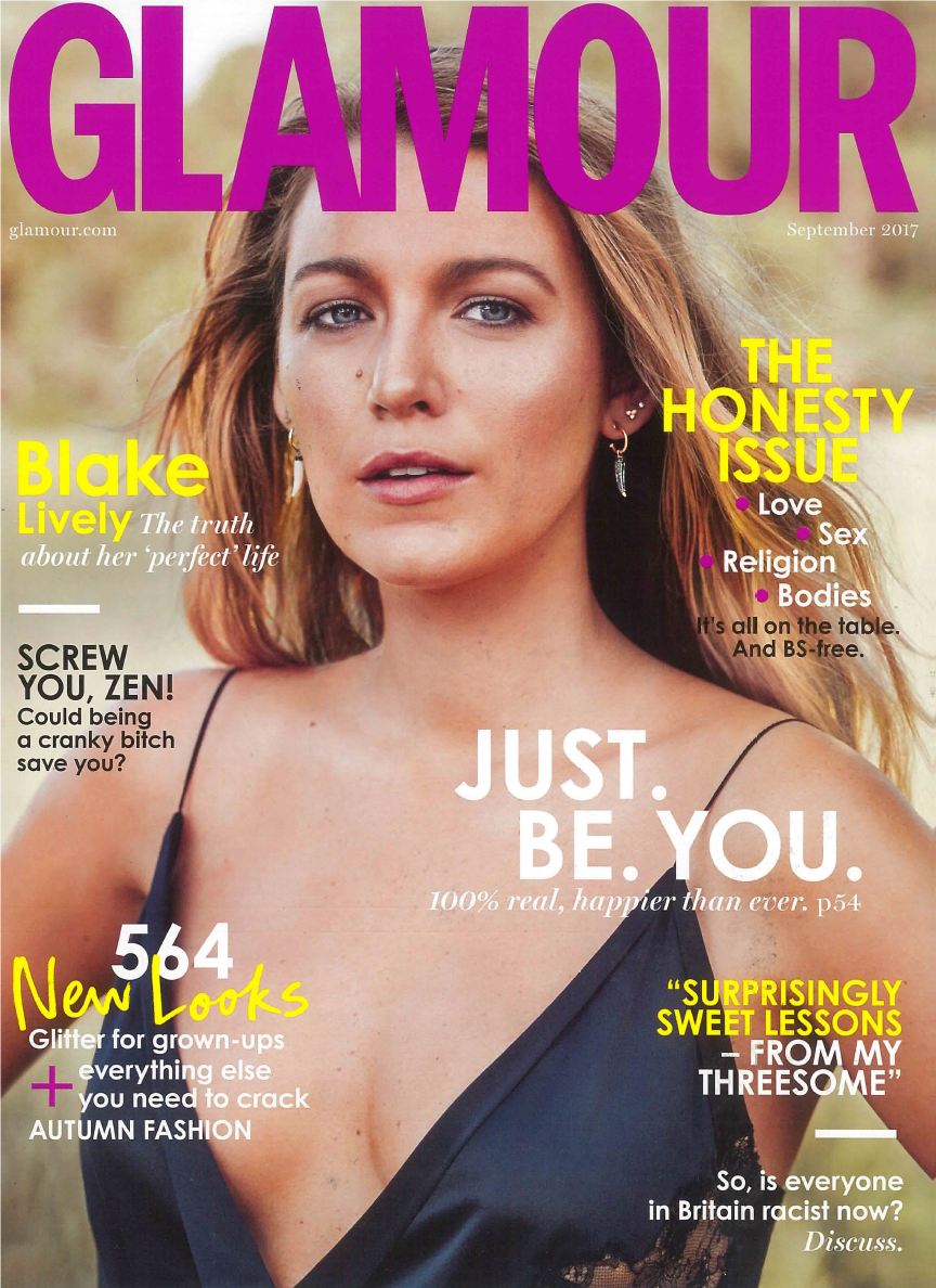 everett custom jewelry glamour uk magazine cover press united kingdom