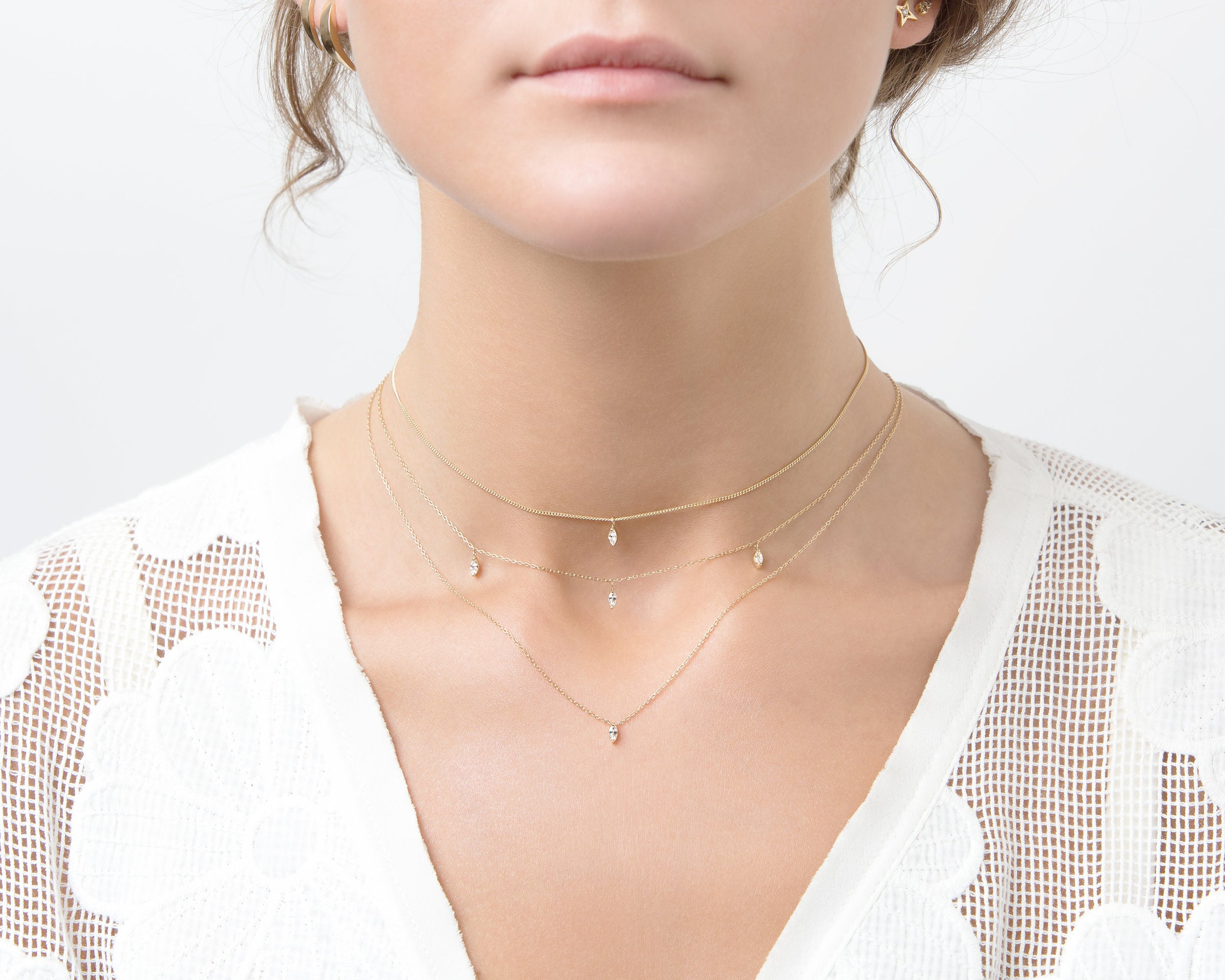 everett fine jewelry custom necklaces lookbook