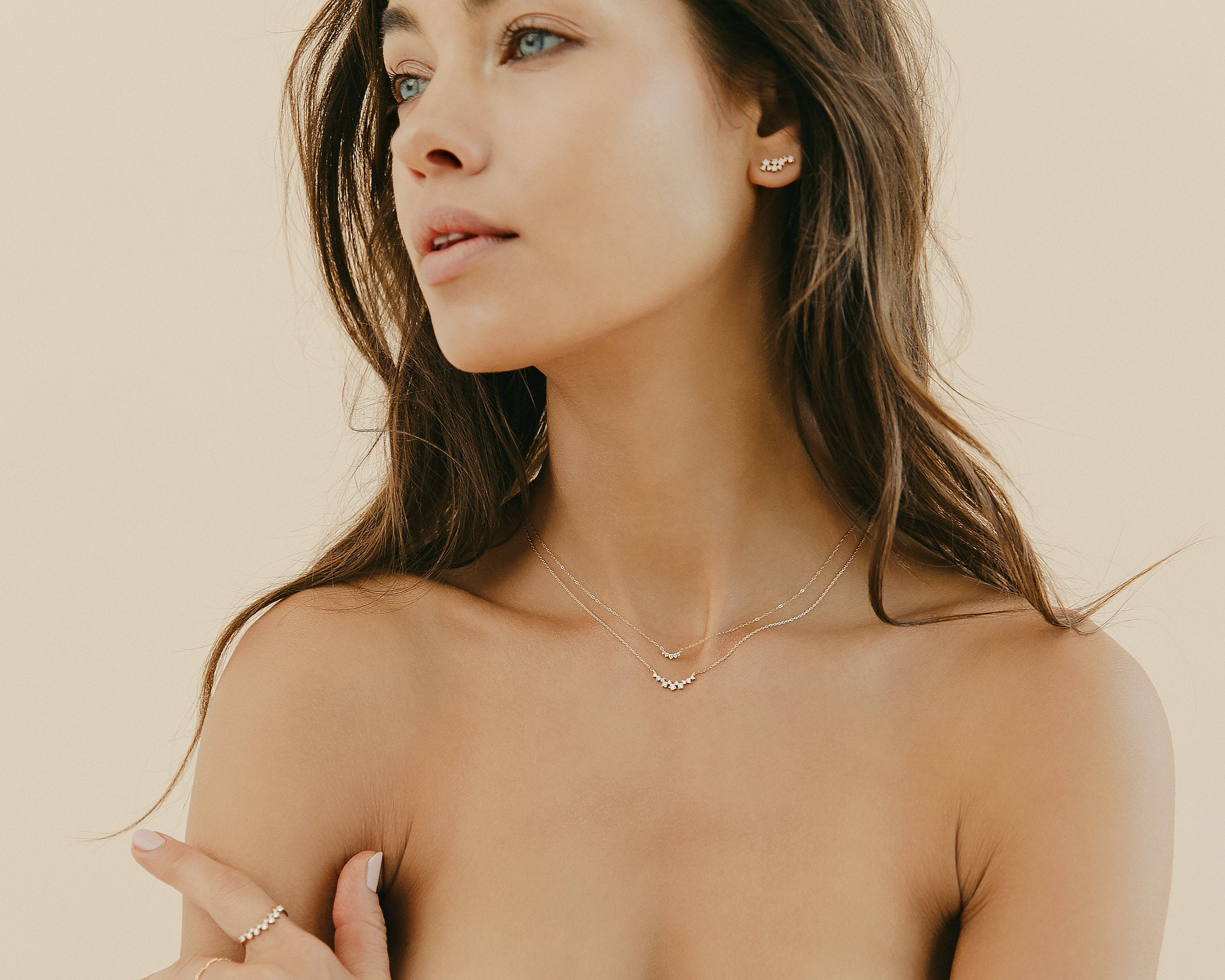 everett fine jewelry custom necklace lookbook