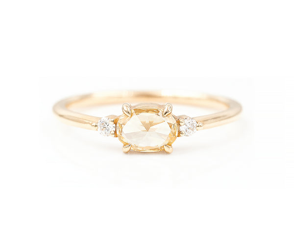 0.51-Carat Yellow Diamond Ring