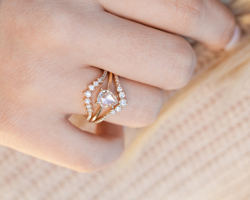 Clover Ring (size 6.25 and 6.5 in stock)