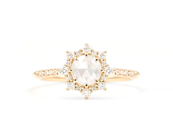 0.93-Carat Icy Grey Diamond Sienna Ring