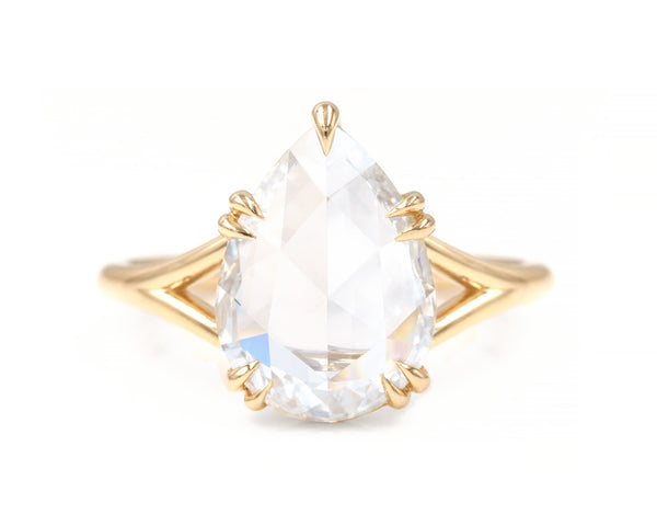 2.45-Carat White Diamond Gemma Ring