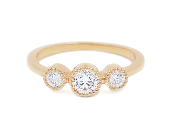 Everett Fine Jewelry White Diamond Eventide Ring