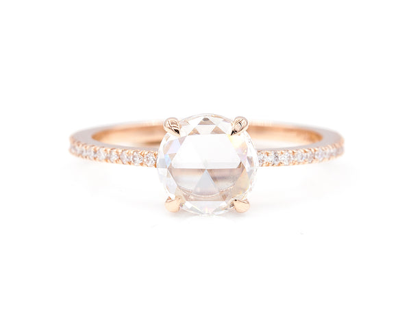 Everett Fine Jewelry 1.16-Carat Round Rose Cut Taylor RIng