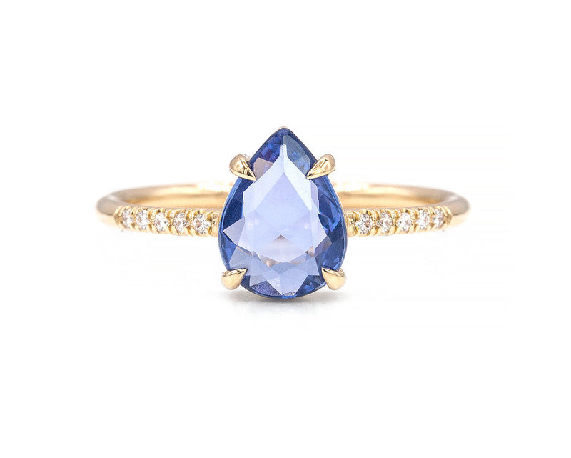 Everett Fine Jewelry 1.43-Carat Rose Cut Sapphire Ring