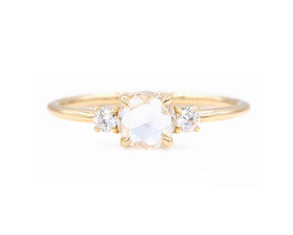 Everett Fine Jewelry The Stella Rose Cut Diamond Ring