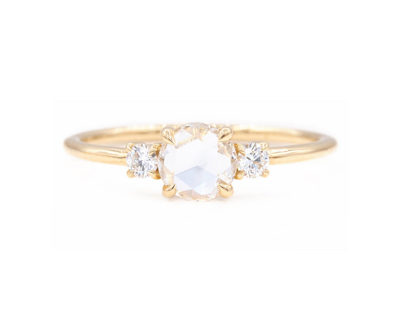 Everett Fine Jewelry Stella Rose Cut Diamond Ring