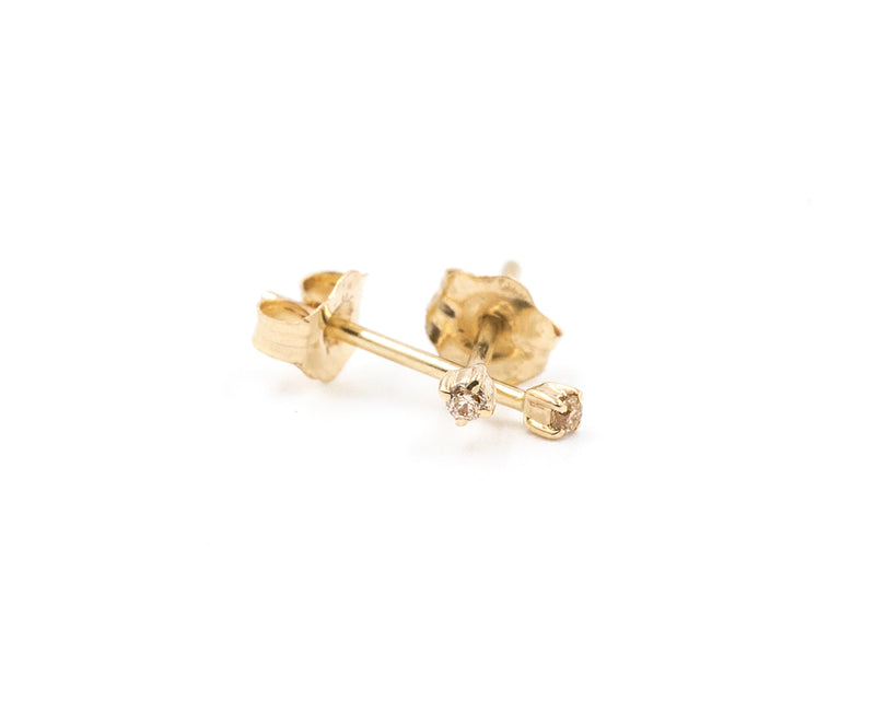 Everett Fine Jewelry Tiny Diamond Studs