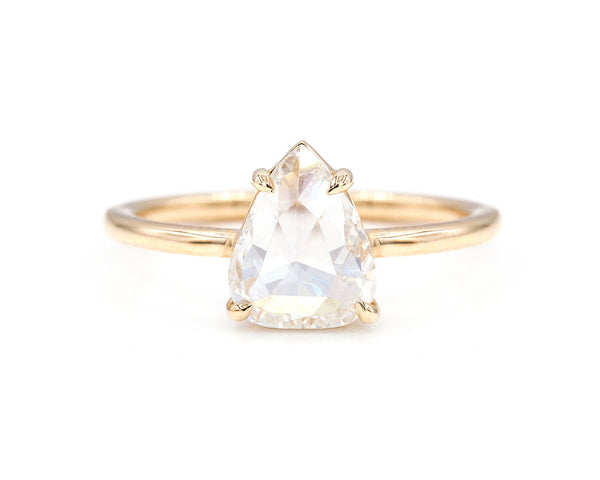 Everett Fine Jewelry 1.74-Carat Rose Cut White Diamond Solitaire