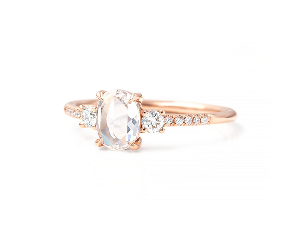 Stella Oval Diamond Ring