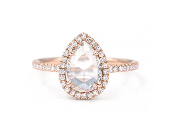 0.85-Carat Pear Blair Ring