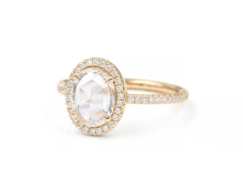 0.90-Carat Oval Blair Ring (size 6.5 in stock)