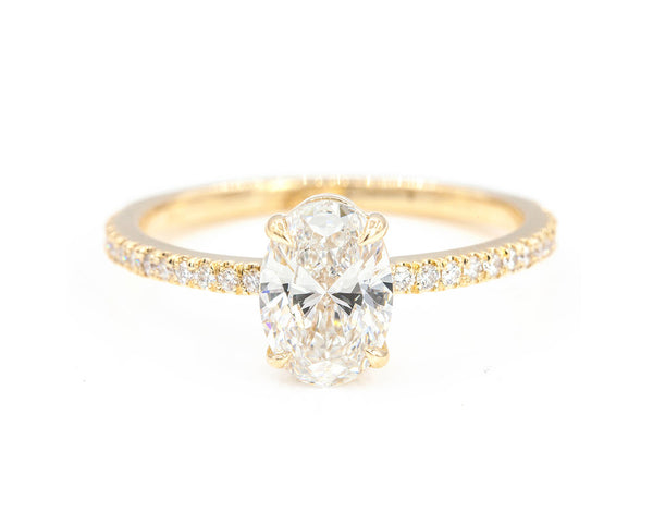 Everett Fine Jewelry 1-Carat Oval Diamond Solitaire