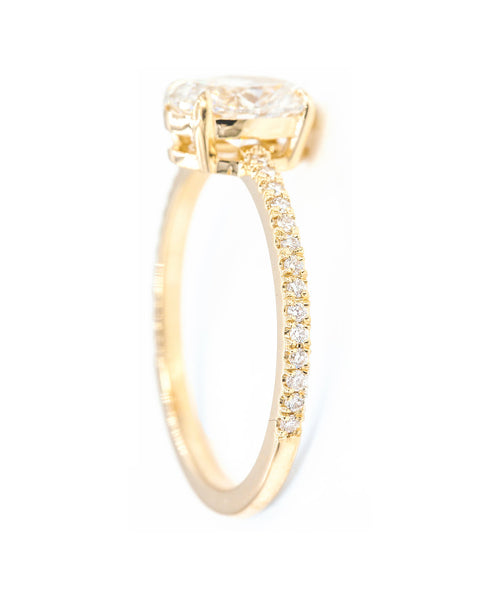 1 Carat Oval Diamond Solitaire Everett