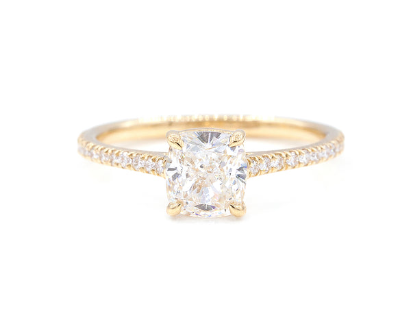 Everett Fine Jewelry 1 Carat Cushion Diamond Ring